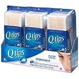 Q-tips Cotton Swabs, Triple Pack, 1875 ea