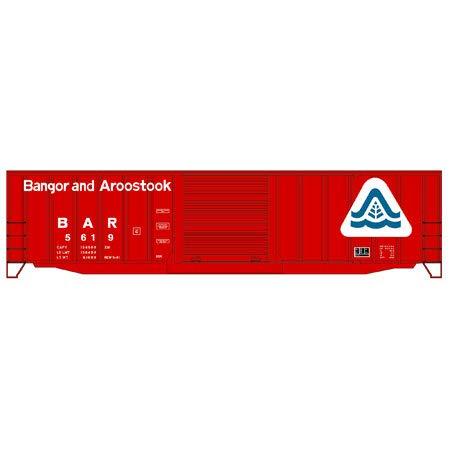 Accurail ACU5659 HO KIT 50' Exterior Post Steel Box, BAR