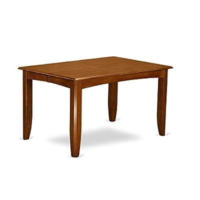 East West Furniture PFPO5-SBR-C 5-Piece Dining Table Set -  - kitchen-dining-room-furniture, kitchen-dining-room, dining-sets - 31sJbzYLjVL. SS400  -