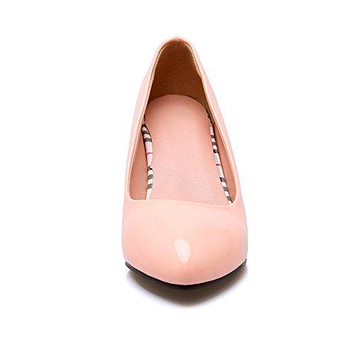 Fashion Heel - Zapatos de Tacón mujer albaricoque