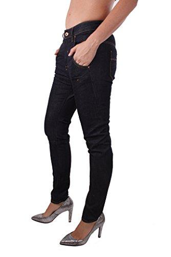 Diesel Fayza 0R8J4 Damen Jeans Hose Boyfriend Dunkelblau quOpFkYP2h