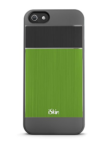 iSkin ARIPH5-GN3 Aura Case for iPhone 5 - 1 Pack - Retail Packaging - Green