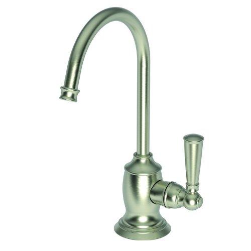 Dispenser Cold 15s Water - Newport Brass 2470-5623 Jacobean Single Handle Cold Water Dispenser, Satin Nickel