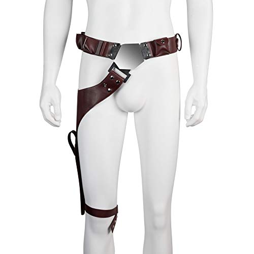 Han Solo Belt with Buckle Holster Update Version Deluxe Cosplay Costume Accessories Brown - http://coolthings.us