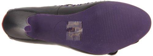 T.U.K. A8196L - Zapatos de vestir de sintético para mujer rojo negro/ rojo 40