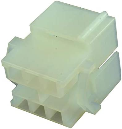 Commercial MATE-N-LOK Series 1-480340-0 Plug Pack of 50 4.95 mm, 6 Positions Connector Housing Free Hanging