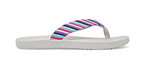 Flip Womens Science Violet SoftScience Stripe The Soft Waterfall Flops wUYnzq64x