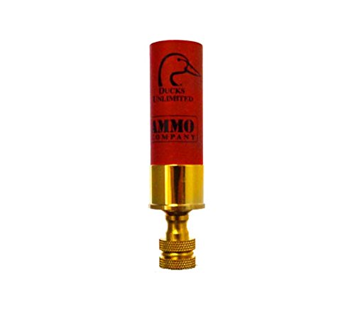 Lamp Finial - Ducks Unlimited Shotgun Shell - Red