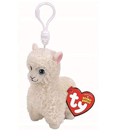 Amazon.com: Ty Beanie Boos Lily Llama, Keyclip!: Toys & Games