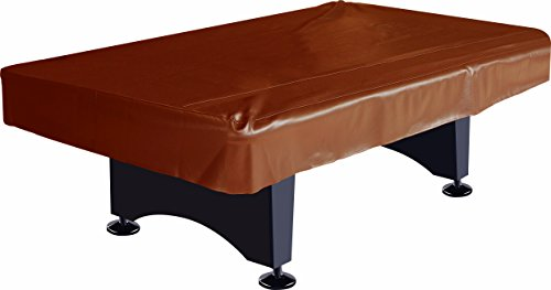 (Imperial Billiard/Pool Table Fitted Naugahyde Cover, 8-Foot Table, Brown)