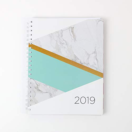 (2019 Monthly Weekly Planner Calendar Appointment Book, 8.5 x 11 inches, Premium Paper, Chic Fashionable Elegant)