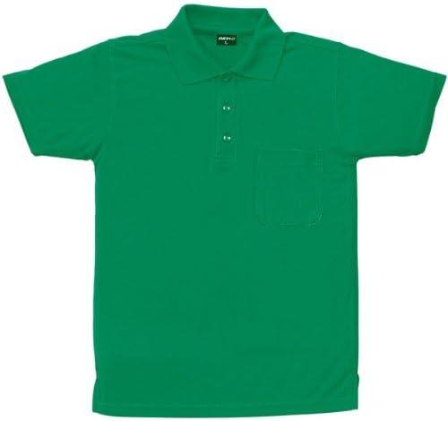 sowa(ソーワ) 吸汗速乾 ハニカムメッシュ 半袖ポロシャツ(胸ポケット付き) sw-50397