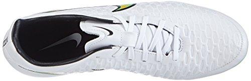 Nike Magista Onda FG 651543 Herren Fußballschuhe Weiß (White/Poison Green-Black-Total Orange)