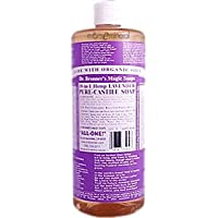 Dr. Bronners Magic Soaps 18-in-1 Hemp Lavender Pure Castile Soap