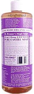 Dr. Bronner's Magic Soaps 18-in-1 Hemp Pure Castile Soaps Lavender (32 fl oz) -