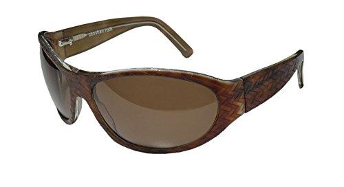 christian-roth-14226e-mens-womens-wrap-full-rim-sunglasses-sun-glasses-67-17-110-demi-amber