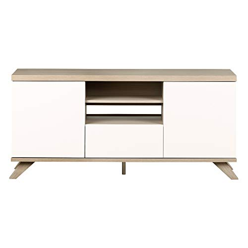 South Shore 12163 Cinati TV Stand with Drawer and Doors,, used for sale  Delivered anywhere in USA