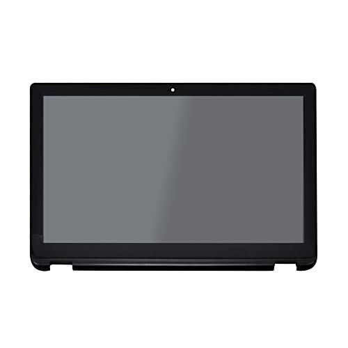 (LCDOLED Replacement 15.6 inches FullHD 1080P IPS LED LCD Display Touch Screen Digitizer Assembly with Bezel for Toshiba Satellite Radius P55W-B Series P55W-B5220 P55W-B5112 P55W-B5224 P55W-B5318)