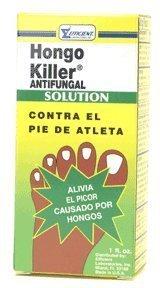 - Hongo killer antifungal solution - 1 oz