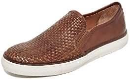 Frye Men's Gates Woven Leather Slip On Sneakers