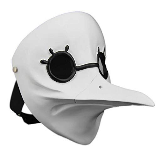 Hotcoser Halloween Assassin's Creed Doctor Beak Mask Cosplay Carnival Prop for Adult -