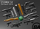 zombie defense pack - BrickArms Series 2014 Zombie Defense Pack block toys (parallel import)