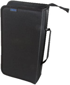 LogiLink NB0055 - Estuche Bolsillo para 96 de CDs/DVDs (Largo): Amazon.es: Informática