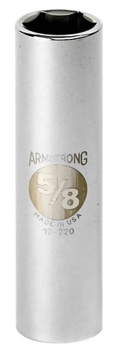 Armstrong 12-228 7/8-Inch, 6 Point, 1/2-Inch Drive SAE De...