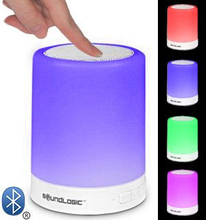 Amazon com: Bluetooth Touchlight Color-Changing LED Speaker by
