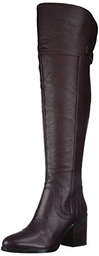 Franco Sarto Women's Ollie Wide Calf Over The Knee Boot, Dark Burgundy, 8.5 M US by Franco Sarto