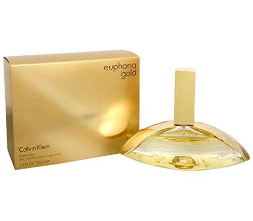 CK Euphoria Gold women Eau De Parfum Spray 3.4 OZ (100 ML)