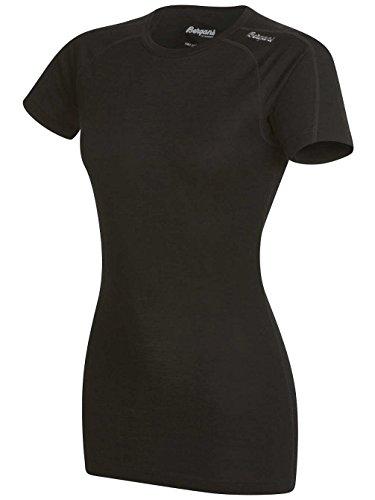 Bergans Soleie W Camiseta de lana merina negro