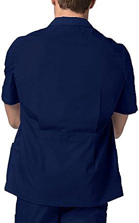 Work Jacket for Nurses /& Doctors Adar Scrub Jacket for Men