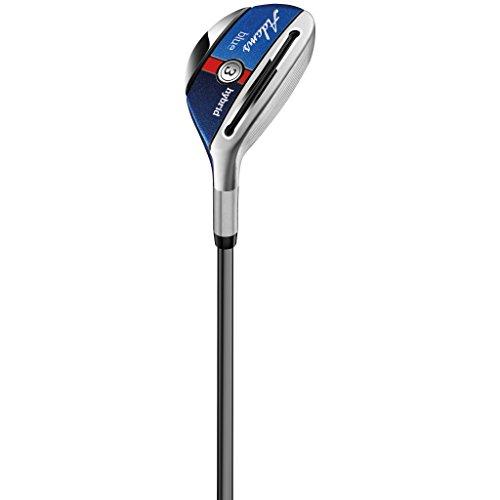 Adams Golf F7530003 Women's Golf Combo Set, Right Hand, Ladies Flex, Graphite Hybrids with Irons, 4,5R, 6-P, Blue
