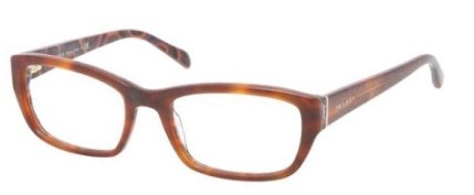 Prada Pr18ov Eyeglasses Mau1o1 Top Havana/hexagon Demo Lens 52 18 - Eyeglass Hexagon Frames
