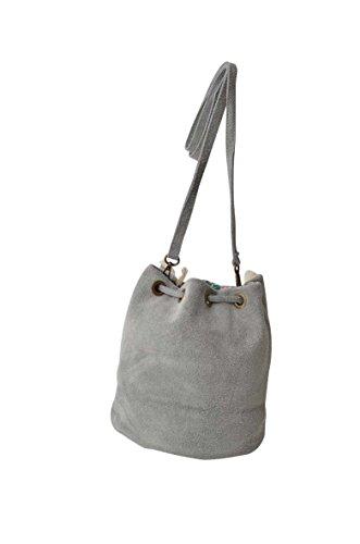 Ateliers Florentins, Borsa a tracolla donna grigio grigio