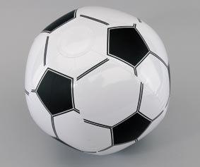 Aufblasbarer Fußball / Wasserball