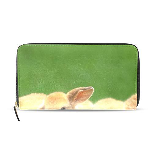 Baby Rabbit Leather Passport Wallet Coin Purse Girls Handbags ()
