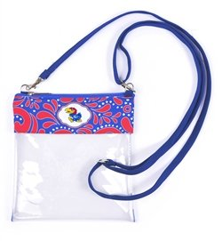 Canyon Outback Clear Crossbody Game Day Bag (Stadium Approved) ... (Kansas)