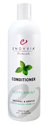Enovvia Natural Peppermint Conditioner with Argan Oil, Light