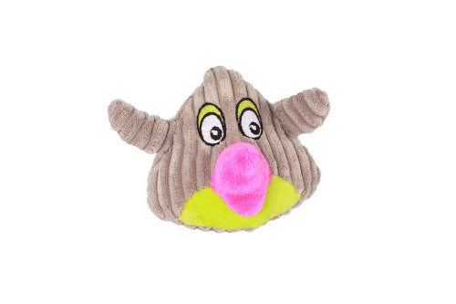 Happy Tails Mad Bird Dog Toy, Gray For Sale