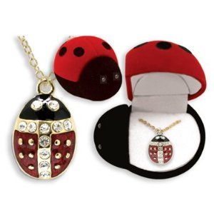 Holiday Figurals (Ladybug Pendant Necklace In Figural Gift)