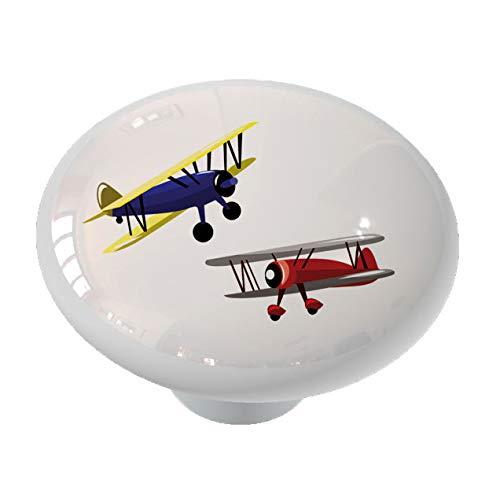 Drawer Knob Plane (Biplanes Ceramic Drawer Knob)