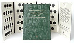 Littleton Jefferson Nickels 1938-1961 Coin Folder - Nickel Jefferson Mintage