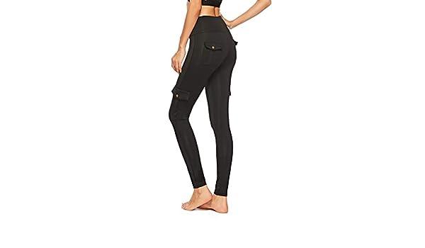 MINXINWY Mallas Gym Mujer, Pantalones de Fitness Mujer ...