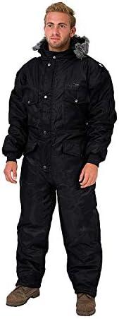 HAGOR Black IDF Snowsuit Winter Clothing Snow Ski Suit Coverall Insulated Suit