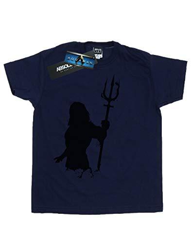 Silhouette Homme T Comics shirt Dc Bleu Marin Mono Aquaman B75IxUUwq