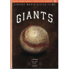 New York Giants 1954 Vintage World Series Films by A&E HOME ENTERTAINMENT