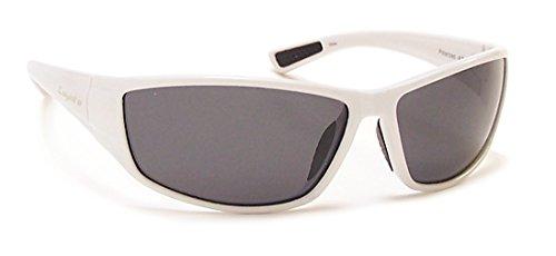 Coyote Eyewear Sportsman's Polarized Sunglasses, White, - Coyote Sunglasses