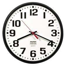 Skilcraft Clock,Wall,BK,6645